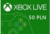XBOX Live 50PLN Prepaid Card PL