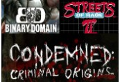 Binary Domain + Condemned + Streets of Rage 2 Steam CD Key