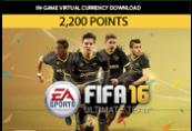 FIFA 16 - 2200 FUT Points Clé Origin