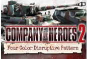 Company of Heroes 2: German Skin - Four Color Disruptive Pattern DLC Steam Gift
