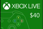 XBOX Live $40 Prepaid Card US