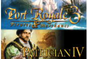 Port Royale 3 Gold and Patrician IV Gold - Double Pack Steam Gift