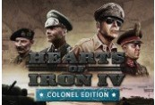 Hearts of Iron IV: Colonel Edition RU VPN Required Steam CD Key