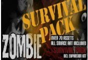 Axis Game Factory's AGFPRO - Zombie Survival Pack DLC Steam CD Key