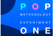POP: Methodology Experiment One Clé Steam