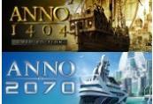 Anno 1404: Gold Edition + Anno 2070 Uplay CD Key