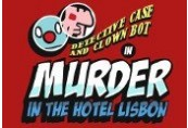 Detective Case and Clown Bot in: Murder in the Hotel Lisbon Steam CD Key