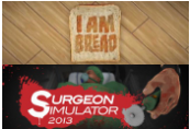 Surgeon Simulator AE + I Am Bread Steam CD Key