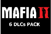 Mafia II - 6 DLCs Pack Steam CD Key