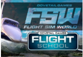 Dovetail Games Flight School + Flight Sim World Steam CD Key