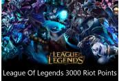 League of Legends 3000 RP Prepaid Card EUW