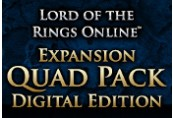 The Lord of the Rings Online: Expansion Quad Pack DLC Digital Download CD Key
