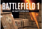 Battlefield 1 - 40 x Battlepacks DLC Origin CD Key
