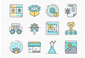 100 SEO Icons ShopHacker.com Code
