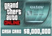 Grand Theft Auto Online: Megalodon Shark Cash Card - 8.000.000$ PC Activation Code