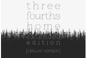 Three Fourths Home: Extended Deluxe Edition Steam CD Key