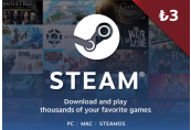 Steam Gift Card ₺3 Activation Code