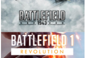 Battlefield 1 Revolution & Battlefield 1943 Bundle Clé XBOX One