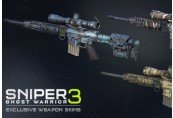 Sniper Ghost Warrior 3 - Hexagon Ice weapon skin pack DLC Steam CD Key