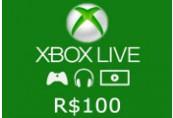 XBOX Live 100 BRL Prepaid Card BR