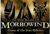 The Elder Scrolls III Morrowind GOTY EU Steam CD Key