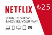 Netflix Gift Card ₺25 TR