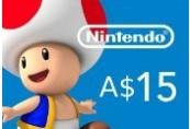 Nintendo eShop Prepaid Card A$15 AU Key
