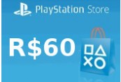 Playstation Network Card R$60 BR