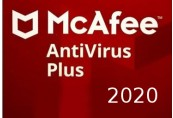 McAfee AntiVirus Plus 2020 (1 Year / Unlimited Devices)