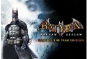 Batman: Arkham Asylum GOTY Edition EU Steam CD Key