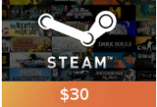 Steam Gift Card $30 Global Activation Code