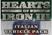 Hearts of Iron III - Italian Vehicle Pack DLC Steam CD Key