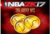 NBA 2K17 - 35,000 Virtual Currency XBOX One CD Key