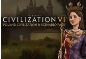 Sid Meier's Civilization VI - Poland Civilization & Scenario Pack DLC for Mac Clé Steam