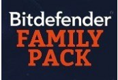 Bitdefender Family Pack 2018 (1 Year)