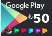 Google Play ₺50 TR Gift Card