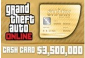 Grand Theft Auto Online - $3,500,000 The Whale Shark Cash Card UK PS4 CD Key