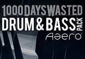 Aaero - 1000DaysWasted - Drum & Bass Pack DLC Steam CD Key