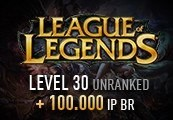 League of Legends Account - Level 30 - Unranked + 100.000 IP BR