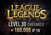 League of Legends Account - Level 30 - Unranked + 100.000 IP TR