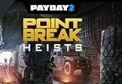 PAYDAY 2: The Point Break Heists DLC RU VPN Required Steam Gift