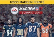 Madden NFL 17 - 12000 Ultimate Team Points Clé XBOX One