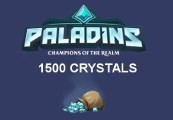 Paladins - 1500 Crystals EU CD Key
