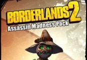 Borderlands 2 Assassin Madness Pack Steam CD Key