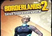 Borderlands 2: Siren Supremacy Pack Steam CD Key