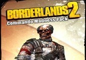 Borderlands 2: Commando Madness Pack Steam CD Key