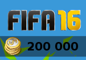 200.000 Fifa 16 Ultimate Team Coins PS4