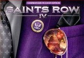 Saints Row IV Commander in Chief Edition + GAT V Pack DLC Clé Steam