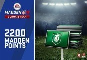 Madden NFL 18 - 2200 Ultimate Team Points DE PS4 CD Key