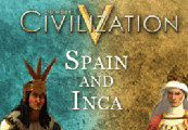 Sid Meier's Civilization V - Spain and Inca Double Civilization Pack DLC Steam CD Key